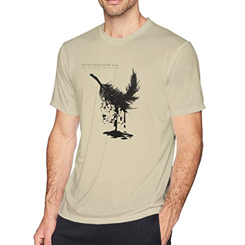 Nooleadel Slim The Dillinger Escape Plan TDEP Esc Band Logo T Shirts for Men