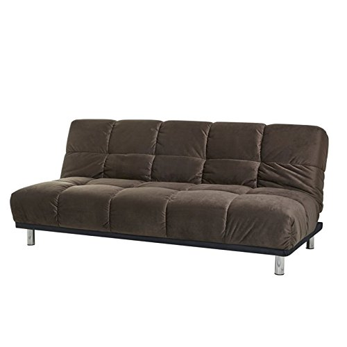 Abbyson Living Marcelle Convertible Sleeper Sofa In Brown