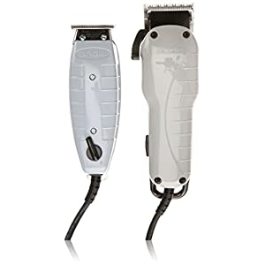 Andis 66325 Barber Combo-Powerful Clipper/Trimmer Comber Kit