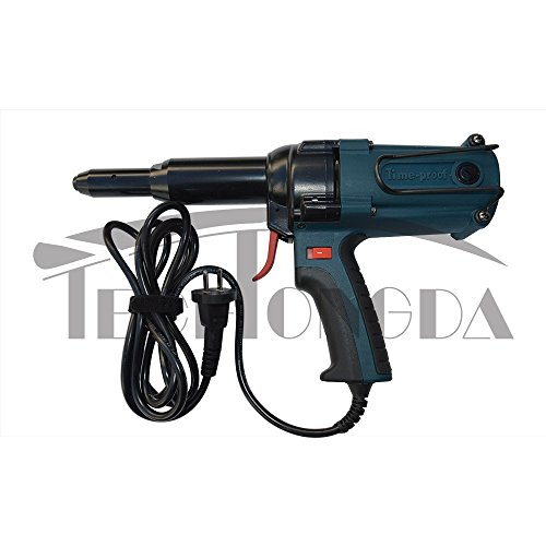 Techtongda 1Set AC 220V / 50Hz 400W Electric Riveter Gun Riveting Tool 8000N(Item#110081) by Hand tool