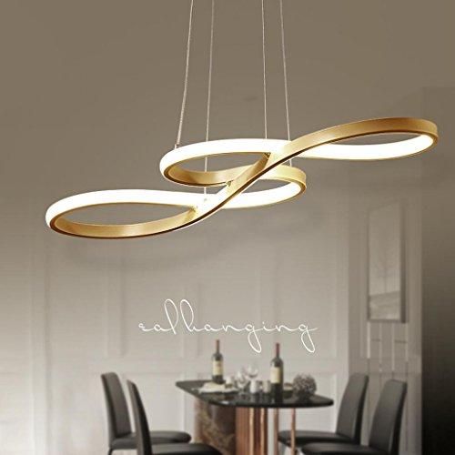 60W LED Pendelleuchte Modern Kreativ Design Lampe Innen Beleuchtung ...