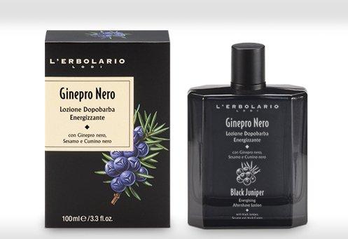 L'ERBOLARIO Energising Aftershave Lotion Black Juniper 3.38 Fl Oz