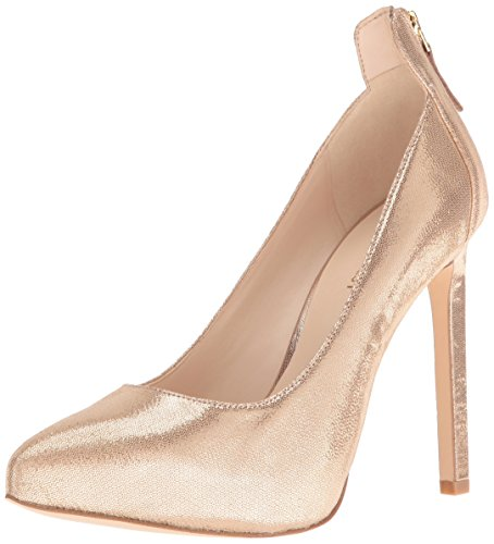 Nine West Women's Lovelost Metallic Dress Pump - Light Go...