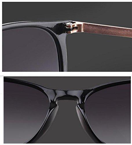 Gafas para B Ladies de polarizadas conducir vacaciones mujer B para Vintage oscuras viajar Classic sol BSNOWF Color Gafas rInfHwqr