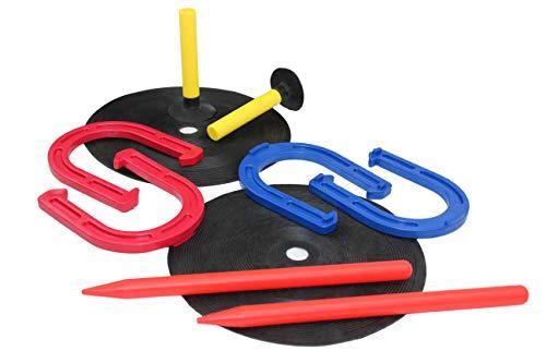 Cannon Sports Rubber Horseshoe Game Set