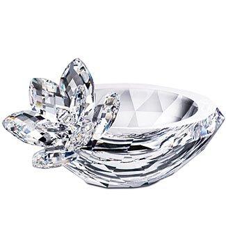 (Swarovski Crystal #956598, Waterlily Bowl New 2008)