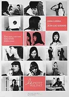 LE PETIT SOLDAT 1990 Original Japanese J B2 Movie Poster Jean-Luc Godard