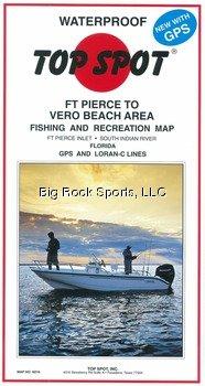 Top Spot Map N216 Ft Pierce Vero Bc by Topspot