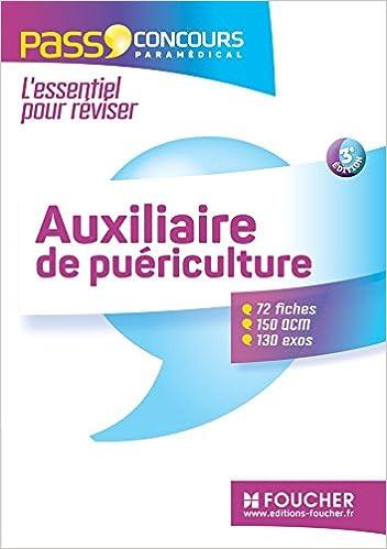En ligne téléchargement Pass'Concours - Auxiliaire de puériculture 3e édition pdf, epub