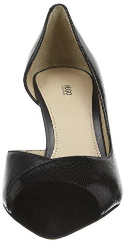Hugo Bellie 10191387 01, Zapatos de Tacón Mujer Negro (Black 001)