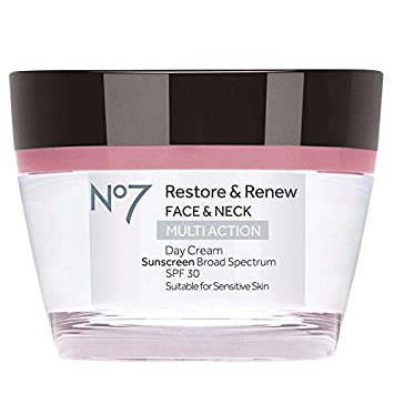 Boots No7 Restore and Renew Day Cream, SPF 30 1 69 Ounce