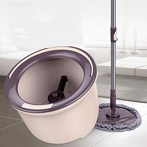 ZZY Elution Two-in-one Mop Rotating Hand-Free Dry Wet Home Good God Drag Double Drive Hand Pressure Type Water Double Drive Drag Bucket