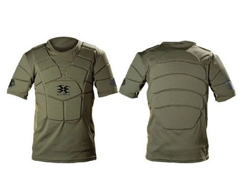 (Empire Paintball BT Chest Protector, Olive, Small/Medium )