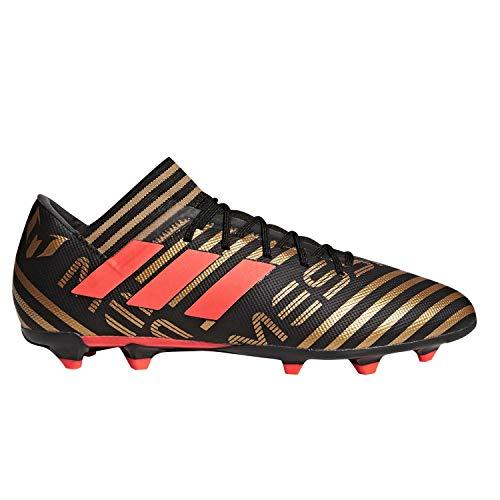 1224a3aabd866 adidas Men's Nemeziz Messi 17.3 FG Soccer Shoe, core Black/Solar red/Tactile