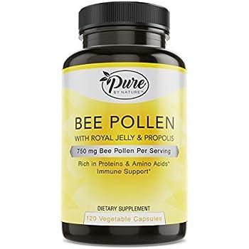 Amazon.com: Best Naturals Bee Pollen Complex 1000 mg 120