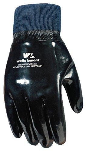 Wells Lamont Work Gloves, Neoprene Coated, One Size (190) by Wells Lamont (Image #4)