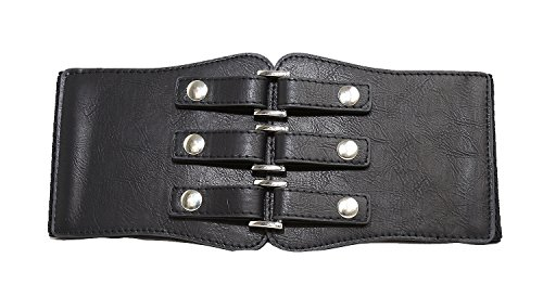 Elastic Leather Cinch Belt (Modeway Women's 4