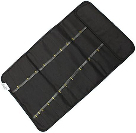 Fenteer ドライバーバッグ プライヤー レンチオーガナイザー キャリングケース ハードウェア ツールバッグ - ブラック