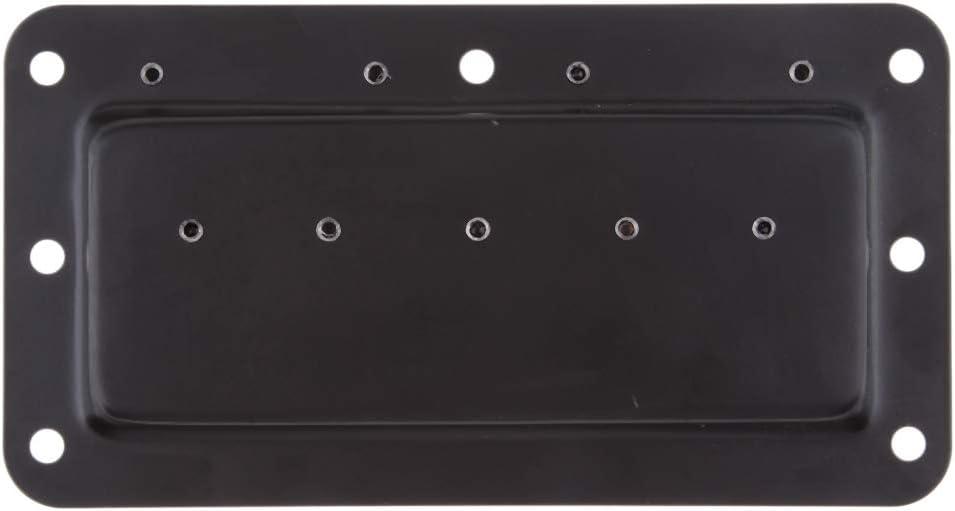 Almencla Black Pull Lift Ring Handle For Boat Locker Drawer 5.9x3.2