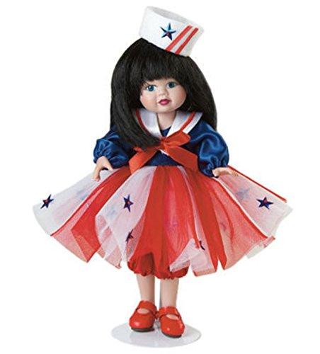 Keepsake Porcelain Doll - Marie Osmond Red, White, & Blue: Carnivals & Fun Keepsake
