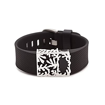sterling silver Matisse slide for Fitbit Charge & Charge HR