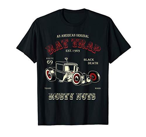(Rat Rod Rat Trap Roadster Shirt)