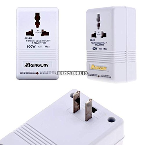 New 110V To 220V Step-Up And Down Voltage Converter 100W ...