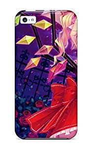 Hot SvqCFhb2428AsjiM Case Cover Protector For Iphone 5c- Amazing Anime Touhou