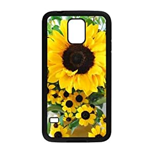 Sunflower DIY Phone Case for SamSung Galaxy S5 I9600 LMc-11533 at LaiMc