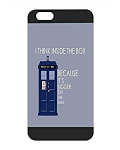 Cute Design for Iphone 6 6S Plus Funda Case - Doctor Who Tardis - TV Series Hardshell Funda Case for Iphone 6 6S Plus (5.5 inch)- Not for Normal Iphone 6 6s