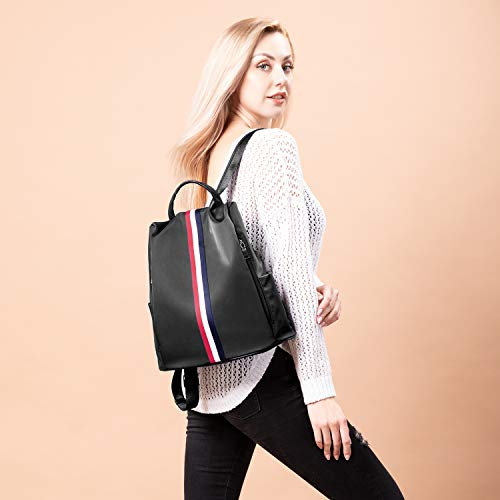 Women Zaino Backpack Casual Spalla Donna Antifurto Nero Borse Daypack Viola Da 484w0
