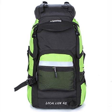 パック アウトドア ブライアンワット屋外スポーツキャンプハイキングランニング登山バッグ男性と女性60Lの防水バックパック 登山用バッグ