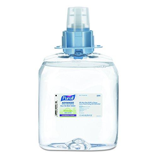 Certified Instant Hand Sanitizer Foam, 1200 mL FMX Refill (Case of 3) (Instant Hand Foam)