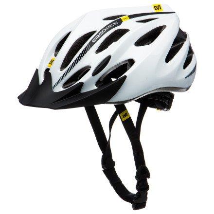 UPC 080694359370, Mavic Espoir Racing Bike Helmet white/black (Head circumference: 54-59 cm)