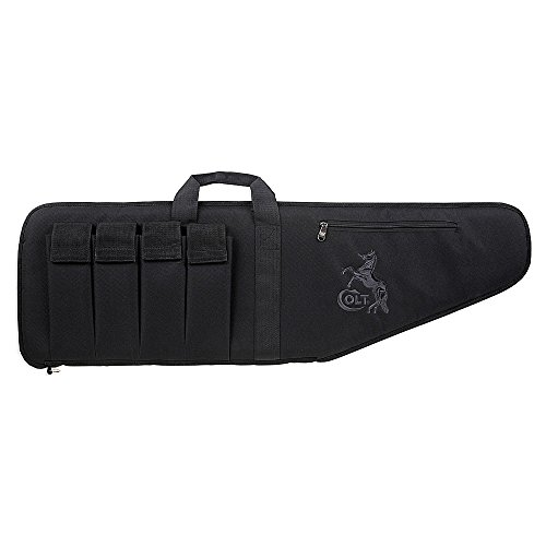 Bulldog Cases Standard Tactical Case with Colt Logo, Black,