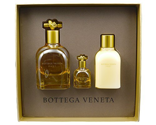 Bottega Veneta Knot Set (Set Includes: Eau de Parfum Spray - 2.5 oz, Body Lotion - 3.4 oz, Deluxe miniature Eau de Parfum - 0.16 oz.)(Limited Edition)
