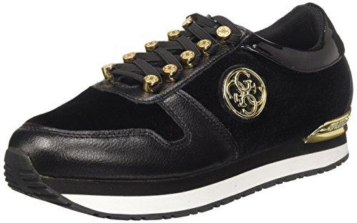 Guess Sneakers Noir Roman Basses Femme r1nrUW