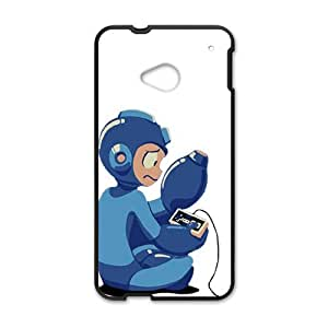 Happy Blue Rockman Cell Phone Case for HTC One M7