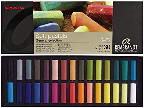 REMBRANT ESPACEBEAUXARTS Rembrandt Weiche Pastellkreiden - Box mit 30 Farben