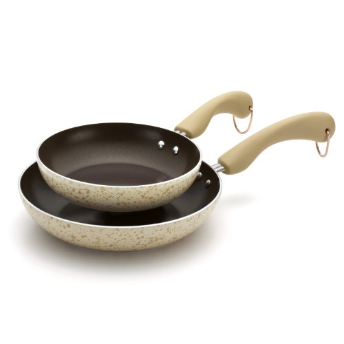 Paula Deen Signature Porcelain Nonstick 8-Inch and 10-Inch S