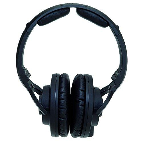 KRK KNS 8400 Closed Back Circumaural Monitor Headphones with Volume Control