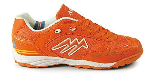 AGLA , Chaussures pour homme spécial foot en salle orange Arancione e bianco 56