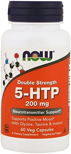 Now Foods 5-HTP 200 mg - 60 Vcaps by NOW Foods