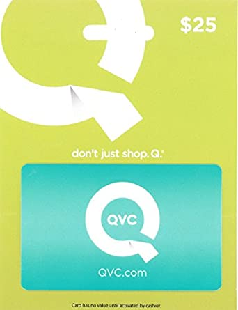 Amazon qvc 25 gift card gift cards qvc 25 gift card negle Choice Image