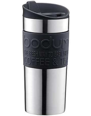 5e6823c4460 Bodum 11068-01 Vacuum Travel Mug, 0.35 L - Small, Black