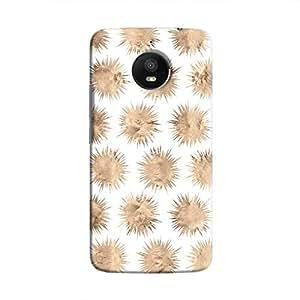Cover It Up - Sand Star White Moto E4 Plus Hard Case