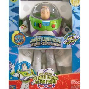 Toy Story original BUZZ LIGHTYEAR of Star Command Ultimate Talking Action Figure - Authentic Original DISNEY PARKS Merchandise ()