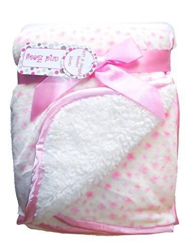 zak-zoey-ultra-soft-sherpa-animal-print-baby-blanket-30-x-40-inches-pink