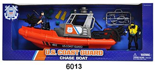 Military Coast Guard - United States Coast Guard Rescue Boat Playset