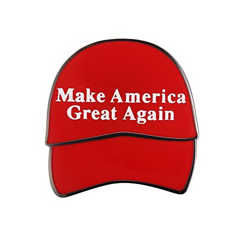 Gudeke Donald Trump President Make Amercia Great Again Lapel Pin